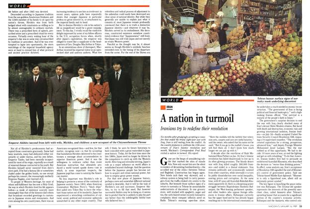 Article Preview: A nation in turmoil, January 1989 | Maclean's