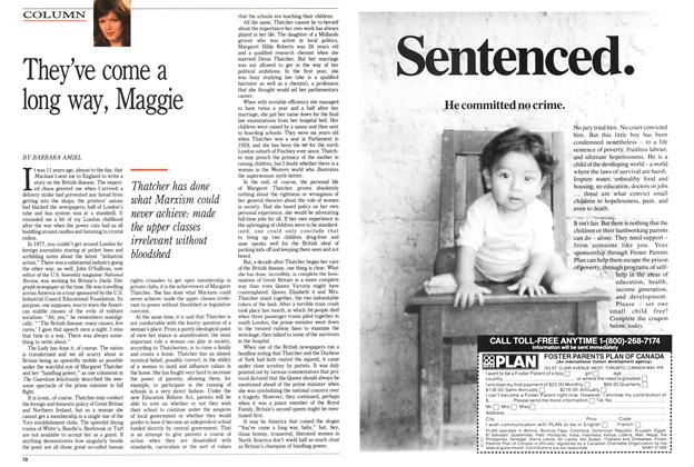 Article Preview: They've come a long way, Maggie, January 1989 | Maclean's
