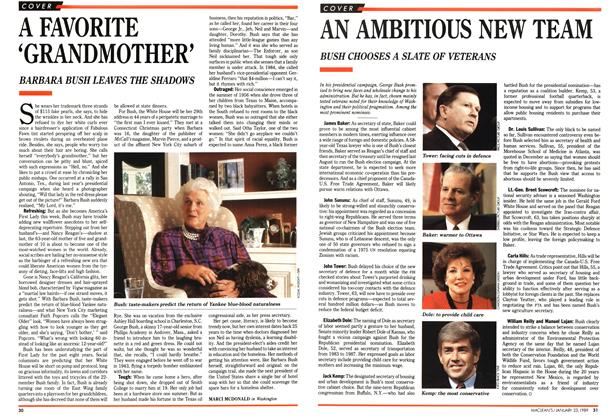Article Preview: A FAVORITE 'GRANDMOTHER', January 1989 | Maclean's