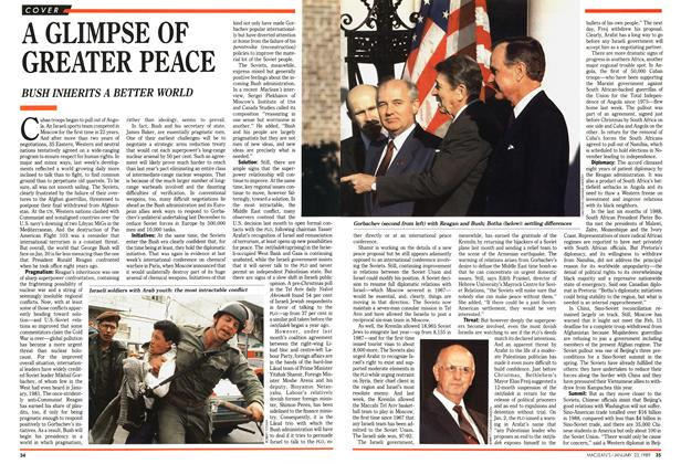 Article Preview: A GLIMPSE OF GREATER PEACE, January 1989 | Maclean's