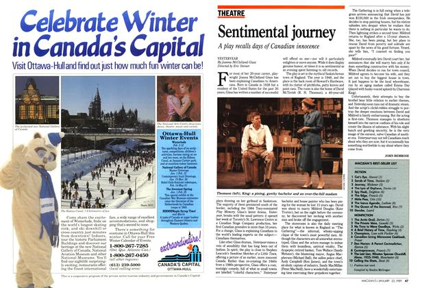 Article Preview: Sentimental journey, January 1989 | Maclean's