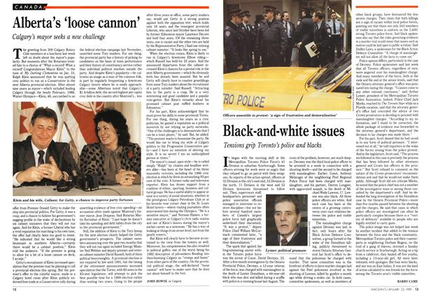 Article Preview: Black-and-white issues, January 1989 | Maclean's