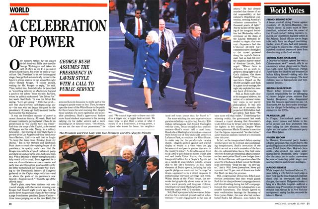 Article Preview: A CELEBRATION OF POWER, January 1989 | Maclean's