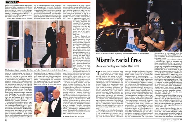 Article Preview: Miami's racial fires, January 1989 | Maclean's