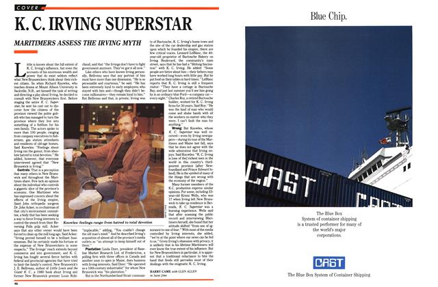 Article Preview: K. C. IRVING SUPERSTAR, February 1989 | Maclean's