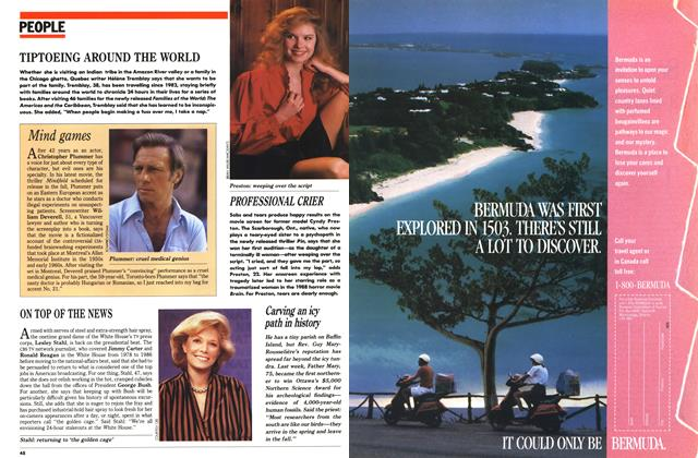 Article Preview: PEOPLE, February 1989 | Maclean's