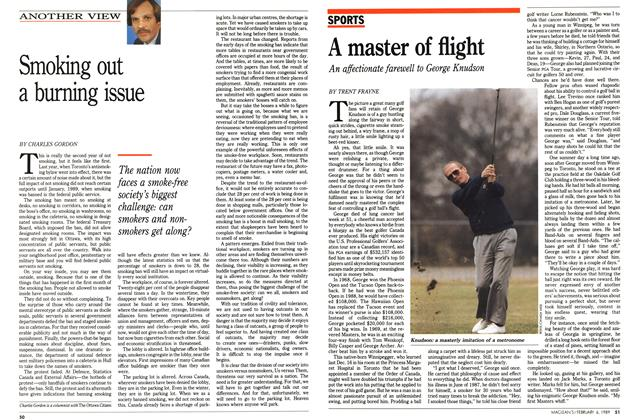 Article Preview: A master of flight, February 1989 | Maclean's