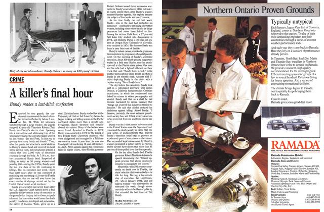 Article Preview: A killer's final hour, February 1989 | Maclean's