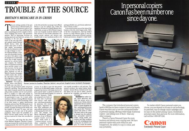 Article Preview: TROUBLE AT THE SOURCE, February 1989 | Maclean's