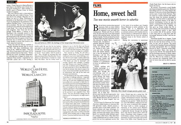 Article Preview: Home, sweet hell, February 1989 | Maclean's