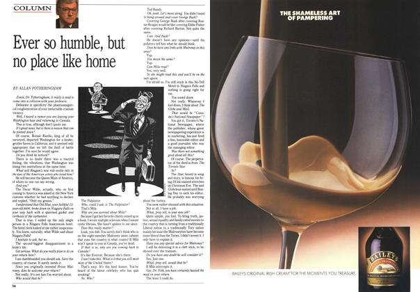 Article Preview: Ever so humble, but no place like home, February 1989 | Maclean's