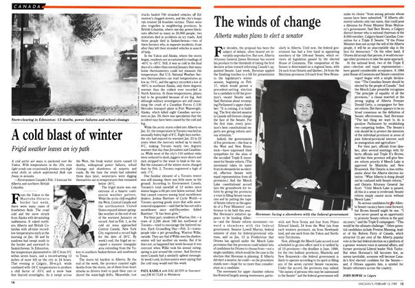 Article Preview: The winds of change, February 1989 | Maclean's