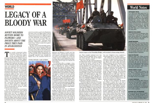 Article Preview: LEGACY OF A BLOODY WAR, February 1989 | Maclean's