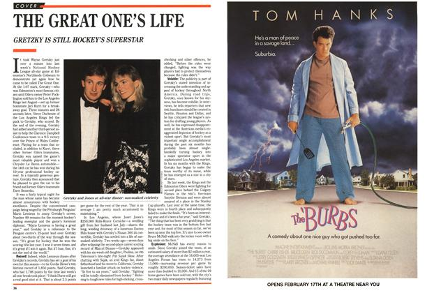 Article Preview: THE GREAT ONE'S LIFE, February 1989 | Maclean's