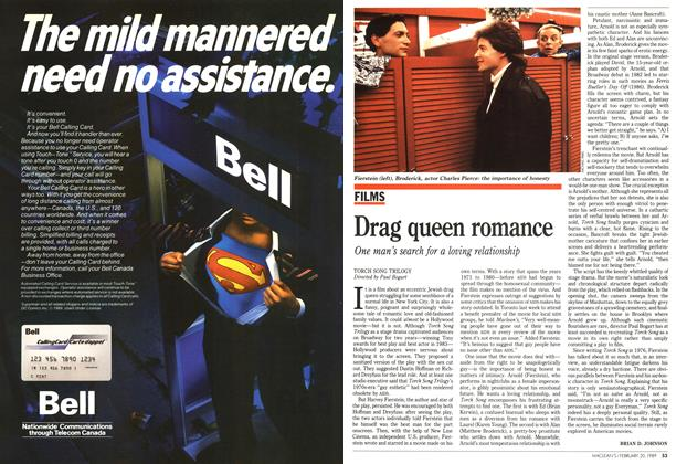 Article Preview: Drag queen romance, February 1989 | Maclean's