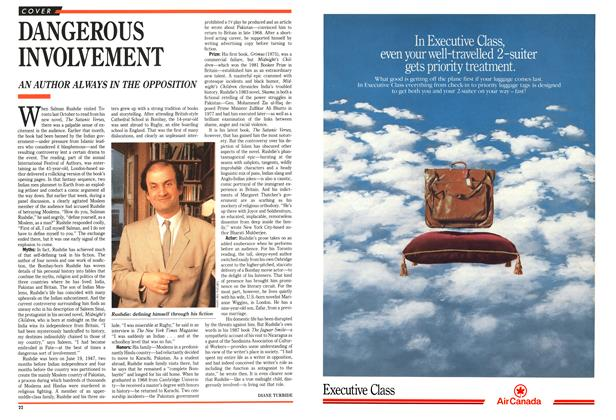 Article Preview: DANGEROUS INVOLVEMENT, February 1989 | Maclean's