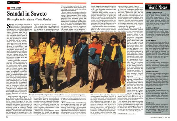 Article Preview: Scandal in Soweto, February 1989 | Maclean's