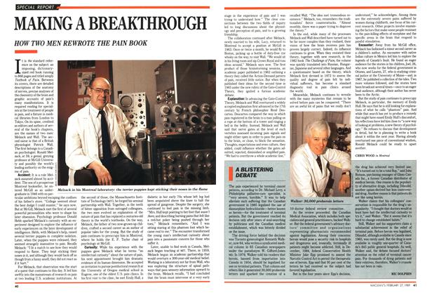 Article Preview: MAKING A BREAKTHROUGH, February 1989 | Maclean's