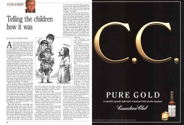 Article Preview: Telling the children how it was, February 1989 | Maclean's