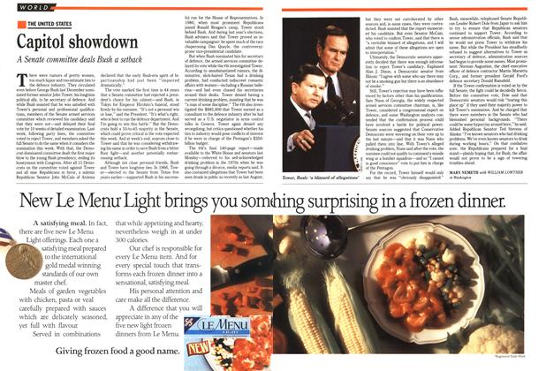 Article Preview: Capitol showdown, March 1989   Maclean's