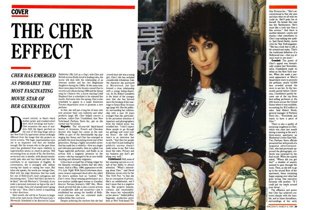 Article Preview: THE CHER EFFECT, March 1989 | Maclean's