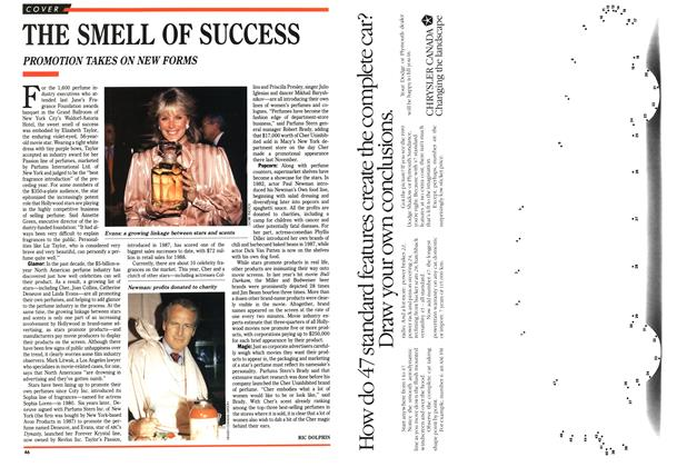 Article Preview: THE SMELL OF SUCCESS, March 1989 | Maclean's