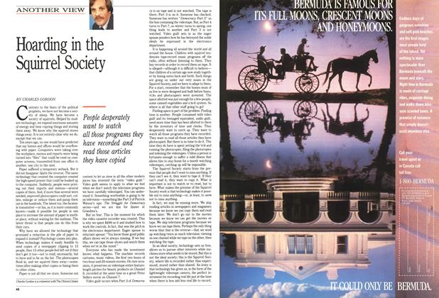 Article Preview: Hoarding in the Squirrel Society, March 1989 | Maclean's