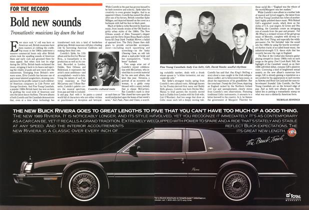 Article Preview: Bold new sounds, March 1989 | Maclean's