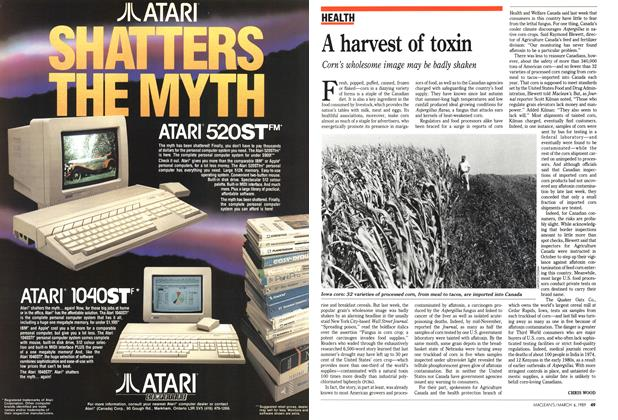 Article Preview: A harvest of toxin, March 1989 | Maclean's