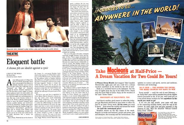 Article Preview: Eloquent battle, March 1989 | Maclean's