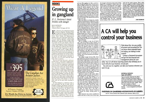 Article Preview: Growing up in gangland, March 1989 | Maclean's