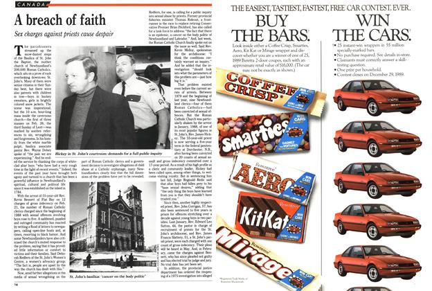 Article Preview: A breach of faith, March 1989 | Maclean's