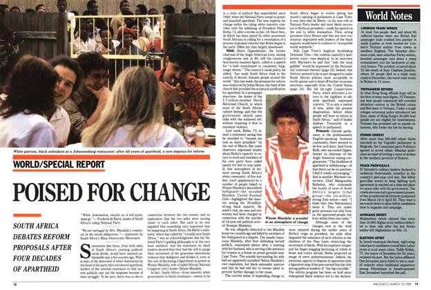 Article Preview: POISED FOR CHANGE, March 1989 | Maclean's