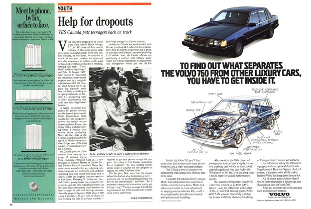 Article Preview: Help for dropouts, March 1989 | Maclean's