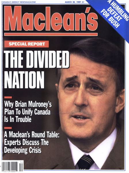 Issue: - March 1989 | Maclean's