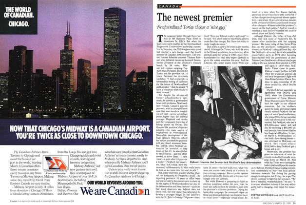 Article Preview: The newest premier, March 1989 | Maclean's