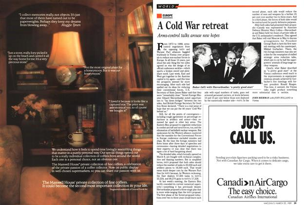 Article Preview: A Cold War retreat, March 1989 | Maclean's