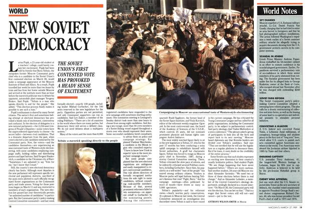 Article Preview: NEW SOVIET DEMOCRACY, March 1989 | Maclean's