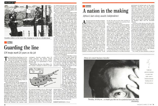 Article Preview: A nation in the making, March 1989 | Maclean's