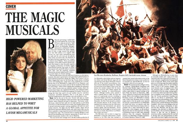 Article Preview: THE MAGIC MUSICALS, March 1989 | Maclean's