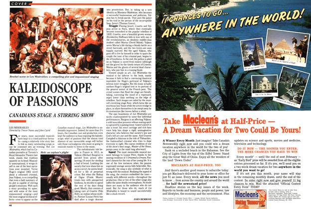 Article Preview: KALEIDOSCOPE OF PASSIONS, March 1989 | Maclean's