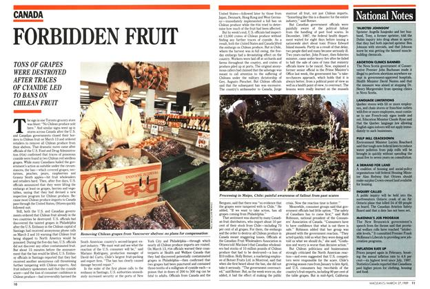 Article Preview: FORBIDDEN FRUIT, March 1989 | Maclean's
