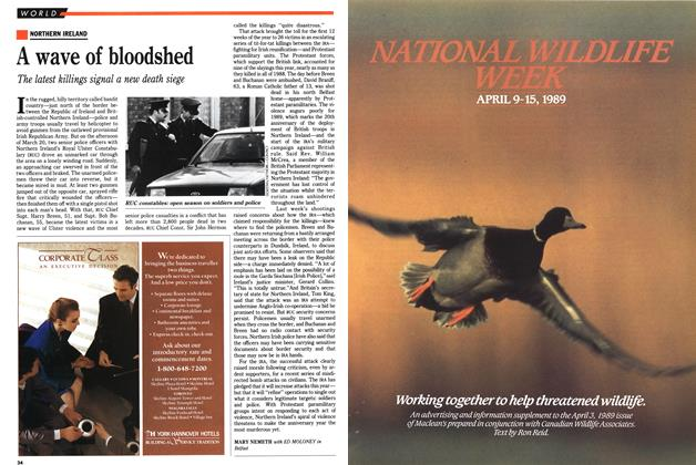 Article Preview: A wave of bloodshed, April 1989 | Maclean's