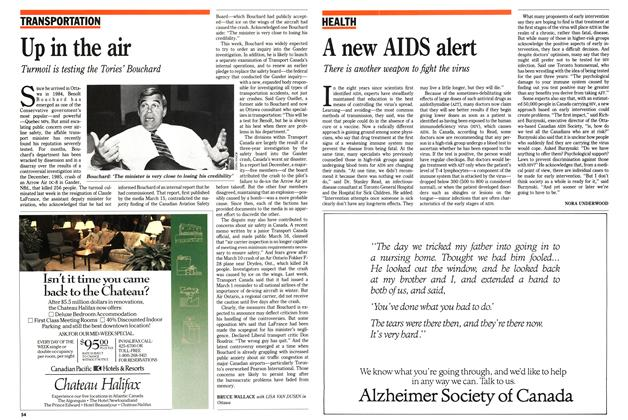 Article Preview: A new AIDS alert, April 1989 | Maclean's