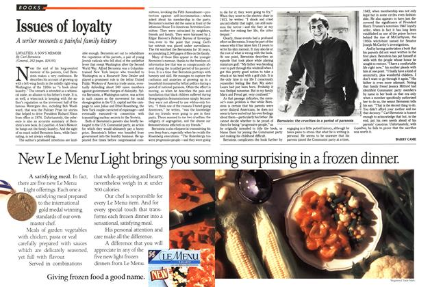 Article Preview: Issues of loyalty, April 1989 | Maclean's