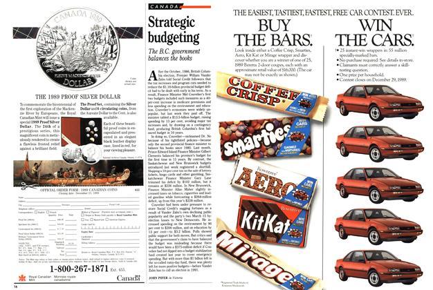 Article Preview: Strategic budgeting, April 1989 | Maclean's