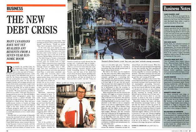 Article Preview: THE NEW DEBT CRISIS, April 1989 | Maclean's