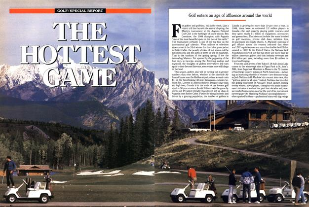 Article Preview: THE HOTTEST GAME, April 1989 | Maclean's