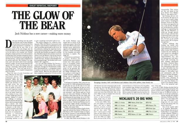 Article Preview: THE GLOW OF THE BEAR, April 1989 | Maclean's