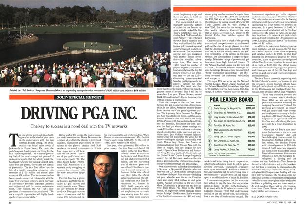 Article Preview: DRIVING PGA INC., April 1989 | Maclean's